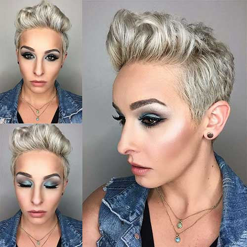 Short Blonde Haircuts 2017 - 19