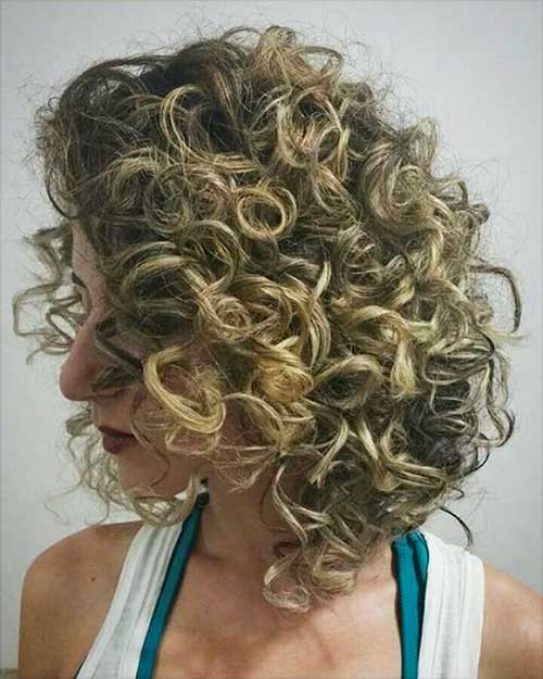Short Natural Curly Hairstyles 2017 - 19