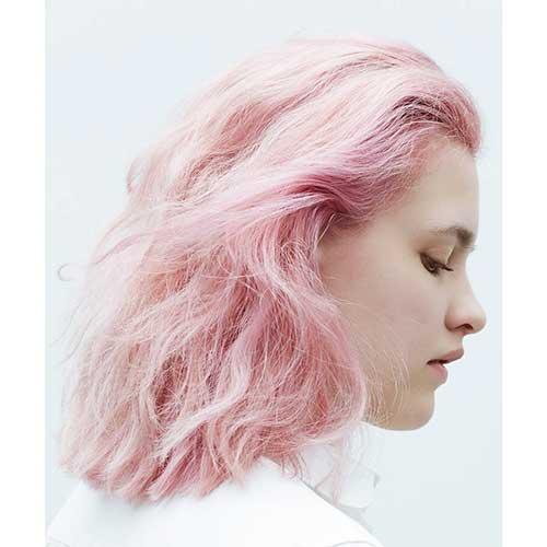 Short Pink Hair - 19