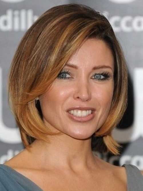 Hairstyles for Short Medium Hair-19