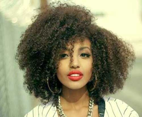 curly afros hair styles 25 curly afro hairstyles hairstyles 2018 8526