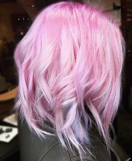 Pink Short Hair
