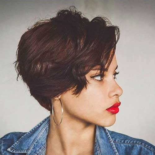 20 Chic Short Hair Ideas With Bangs Short Hairstyles