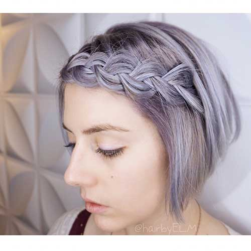 Cool Short Hairstyles for Girls - 20