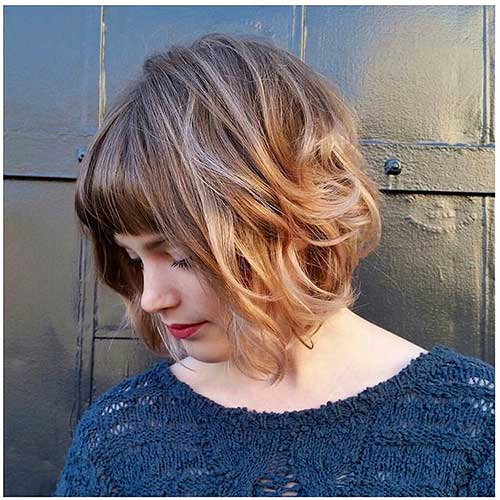 Latest Short Curly Hairstyles - 20