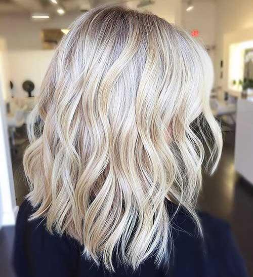 New Short Blonde Hair - 20
