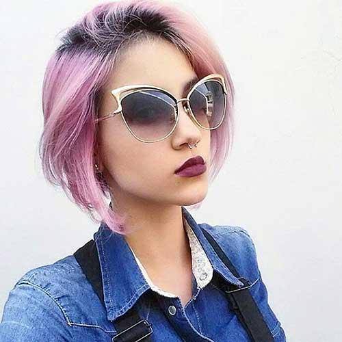 Nice Short Hairstyles for Girls - 20