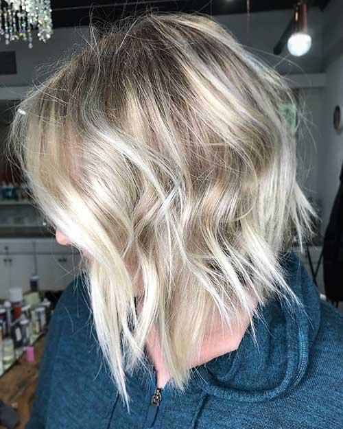 Short Blonde Hair - 20