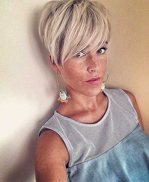Super Short Blonde Hairstyles - 20