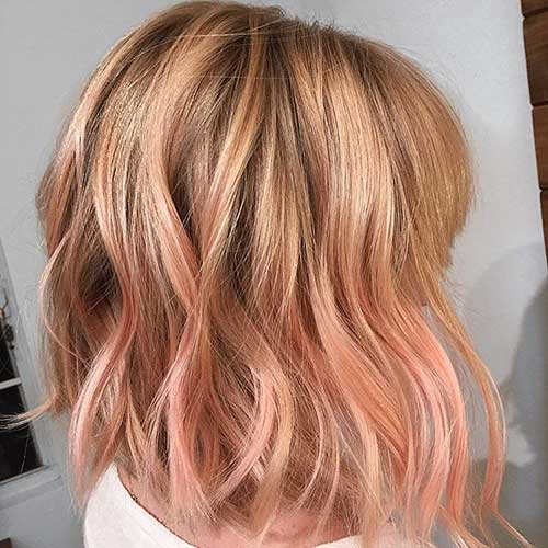 Super Short Wavy Hair - 20