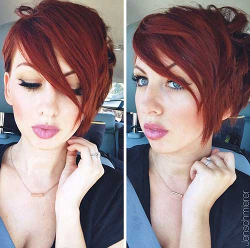 Red Pixie Hair-20