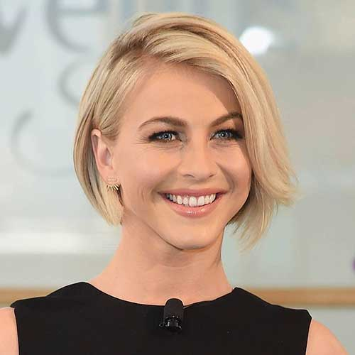 Short Hairstyles For Round Hairstyles - 21