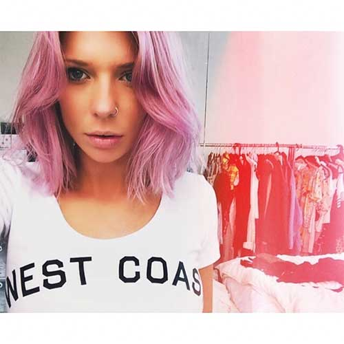 Short Pink Hair - 21