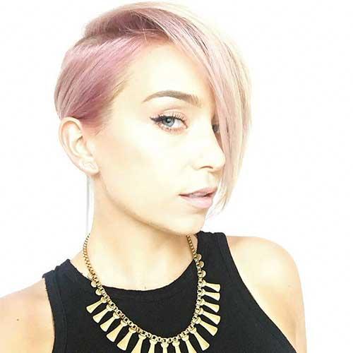 Pink Short Hair - 22