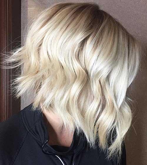 Short Blonde Hair - 22