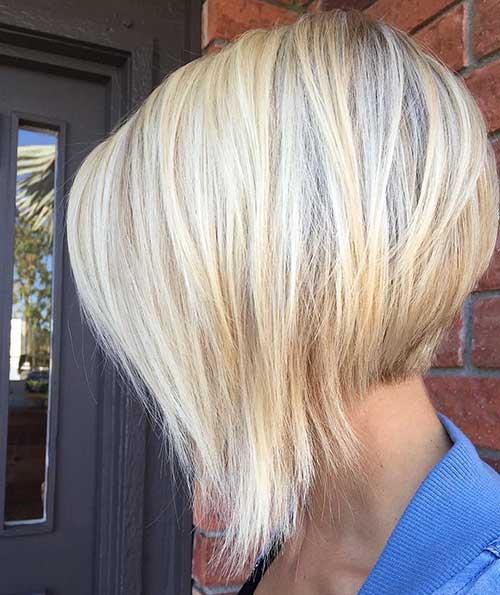 Short Blonde Hairstyle - 22