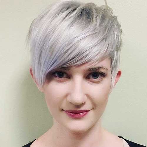 Short Haircuts with Bangs