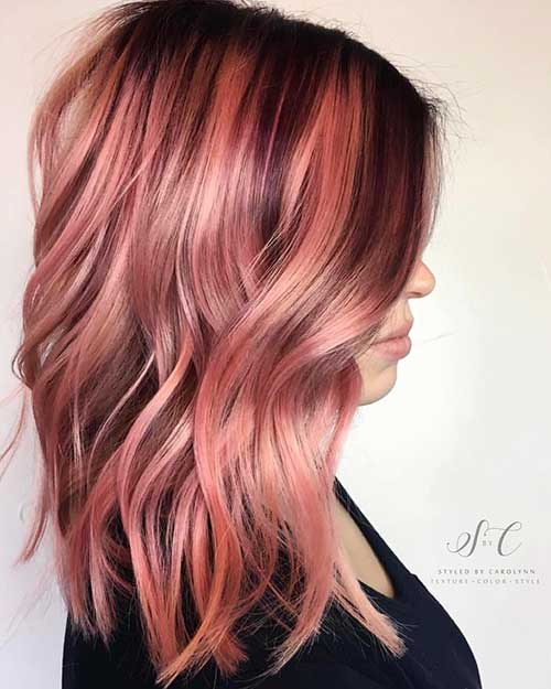 20 Stylish Pink Ombre Hairstyles pictures