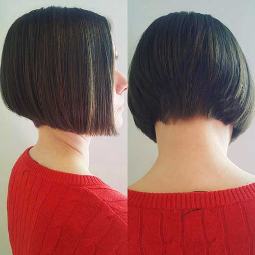 Short Straight Hairstyle - 22