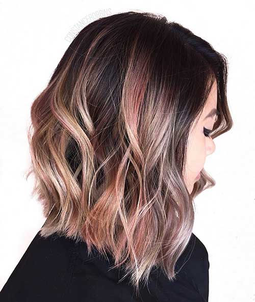 Short Wavy Hairstyle - 22