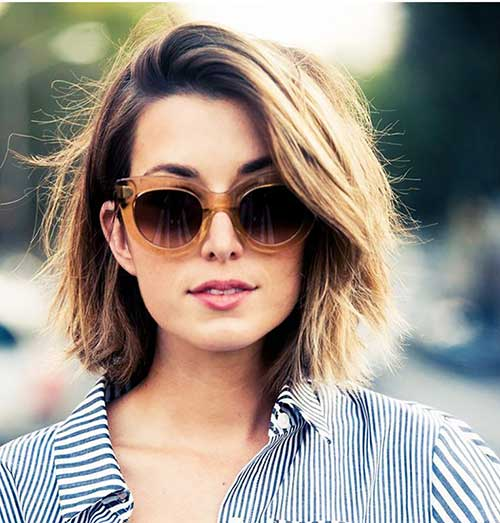 Hairstyles for Short Medium Hair-22