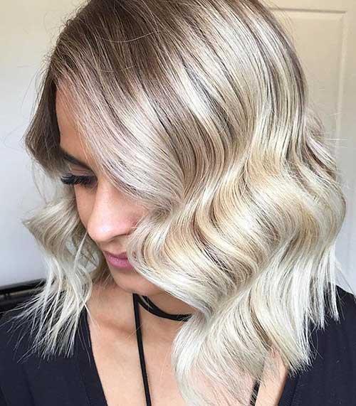 Short Blonde Hair - 23