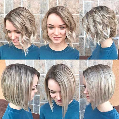 Short Hairstyles For Round Hairstyles - 23