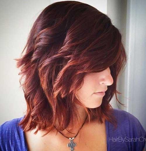 Hairstyles for Short Medium Hair-23