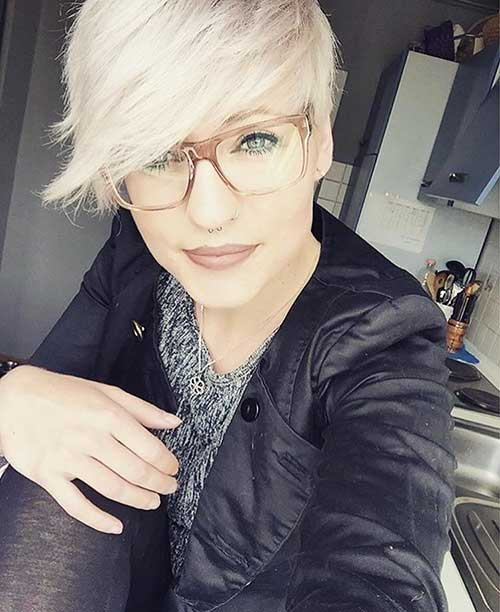 Short Asymmetrical Haircuts 2017 - 24
