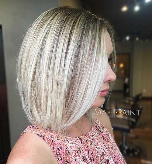 Short Blonde Hairstyles 2017 - 24