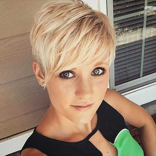 Short Blonde Hairstyles 2017 - 24