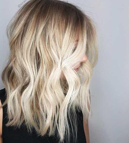 Short Wavy Hair 2017 - 24
