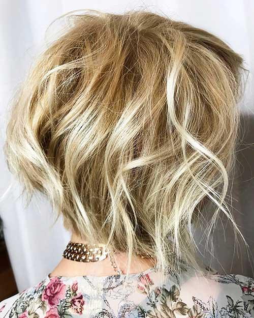 New Short Blonde Hair - 25