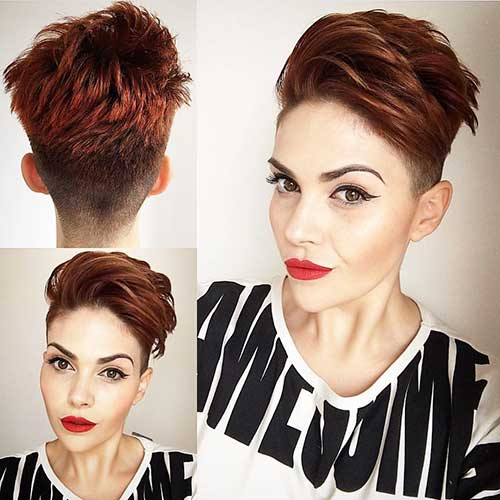 New Short Hairstyles for Girls - 25