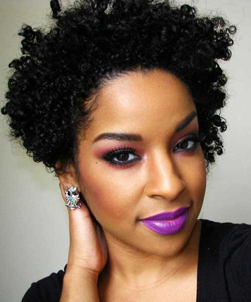Prime 25 Short Curly Afro Hairstyles Short Hairstyles 2016 2017 Short Hairstyles Gunalazisus