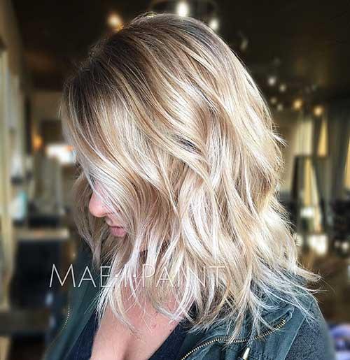 Short Blonde Hair - 27