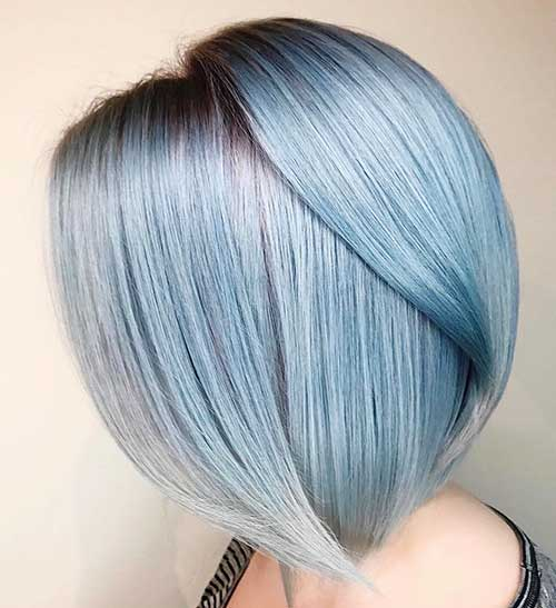 Short Blue Hair - 27