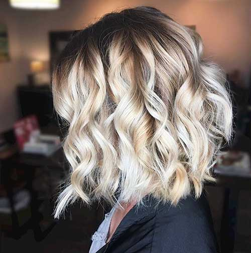 Short Curly Hairstyles for Women - 27