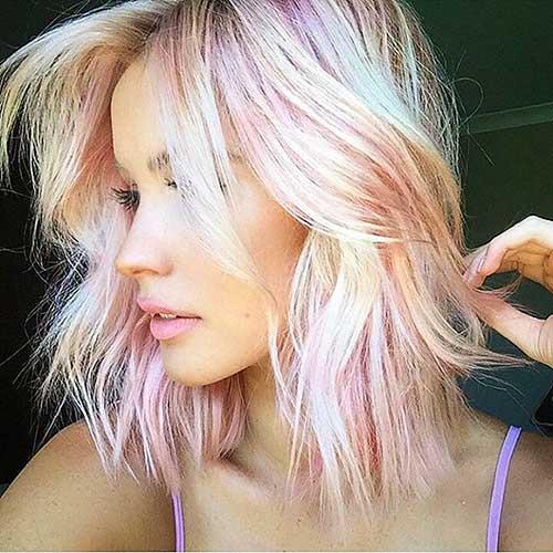 Short Blonde Hair 2017 - 28