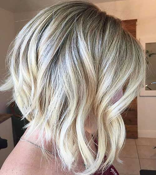 Short Blonde Hairstyles 2017 - 28