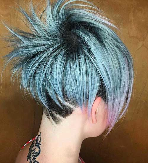 Short Blue Hair 2017 - 28