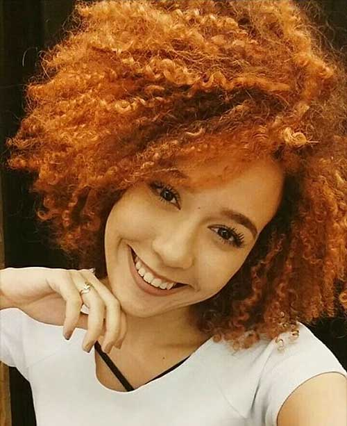 Short Natural Curly Hairstyles 2017 - 28