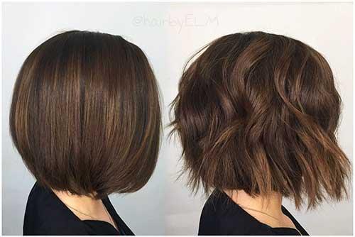 Short Wavy Hair 2017 - 28