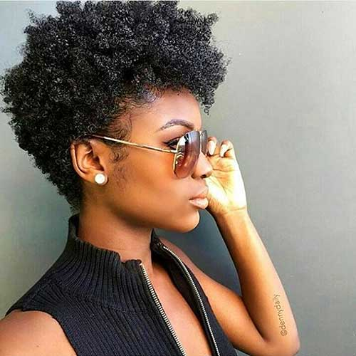Cool Short Natural Curly Hairstyles - 29