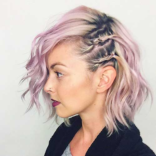 30 Nice Braids For Short Hair Short Hairstyles 2018