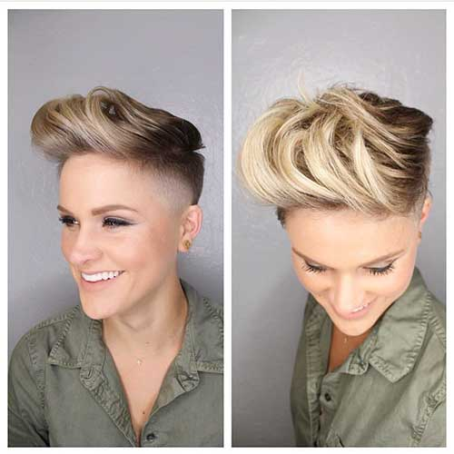 Popular Short Blonde Haircuts - 29