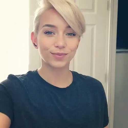Short Blonde Haircuts 2017