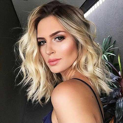 Short Blonde Hairstyles 2017