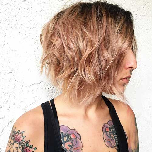 Short Choppy Hairstyles 2017