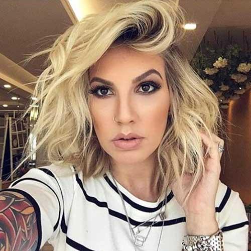 Short Messy Hair 2017